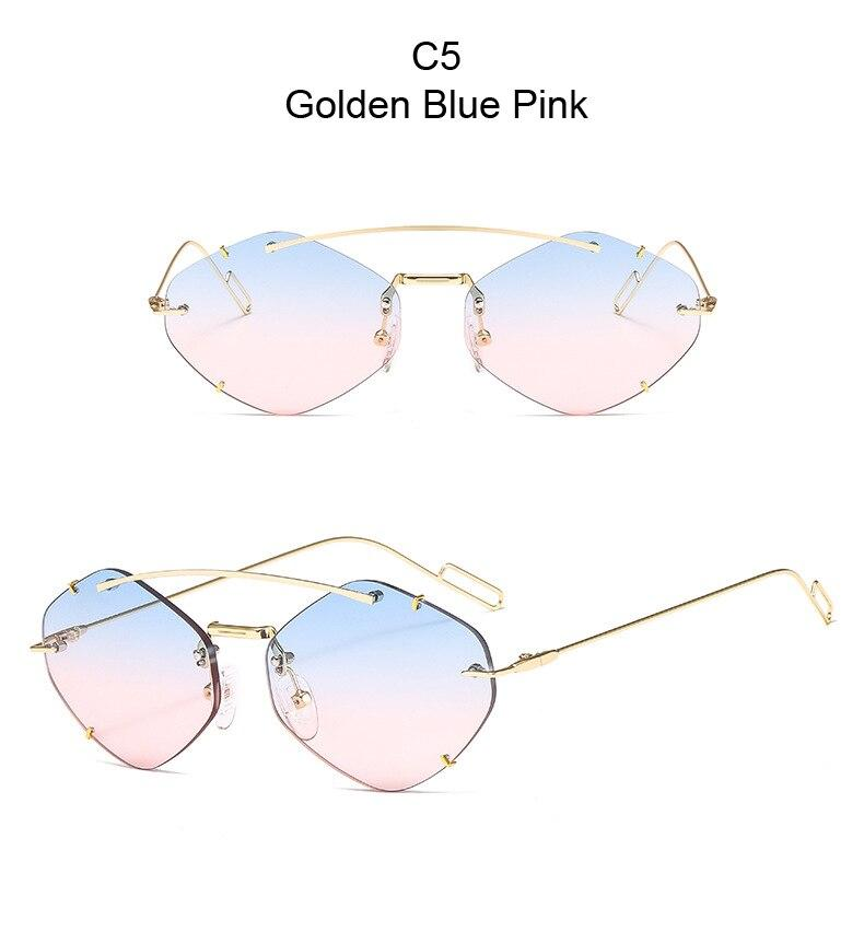 Hardik Pandya Cat Eye Candy Sunglasses For Men And Women-SunglassesTrendz