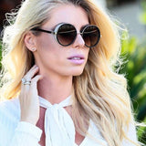 Stylish Round Sunglasses For Women-SunglassesTrendz