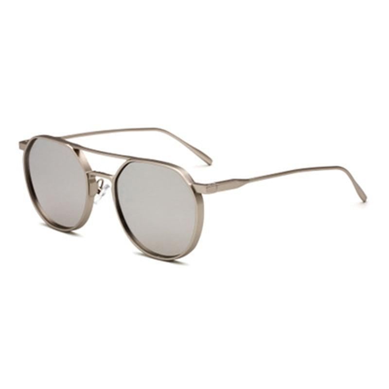 Fashion Zinc Alloy Metal Frame Round Style Sunglasses