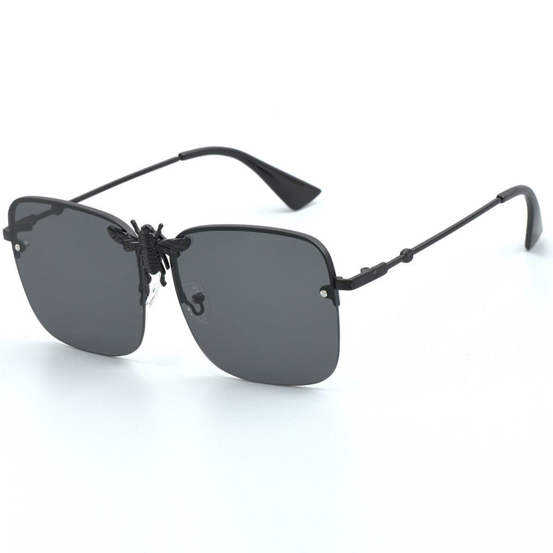 Trendy Square Bee Sunglasses For Women -SunglassesTrendz