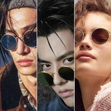 Trendy Round Vintage Sunglasses For Men And Women -SunglassesTrendz