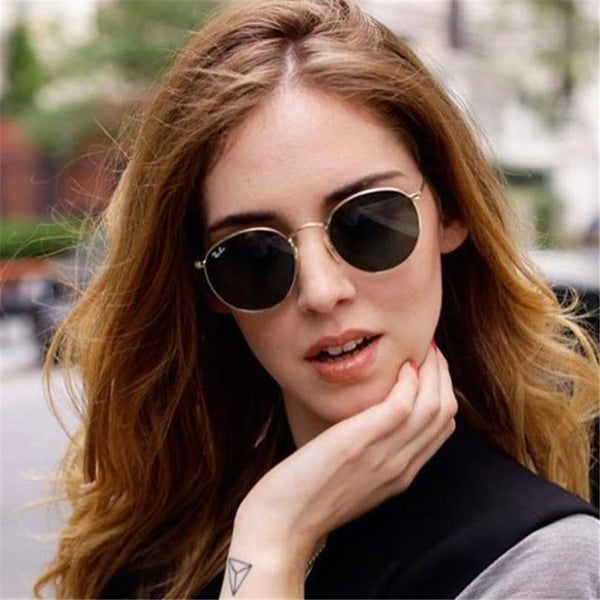 New Stylish Round  Sunglasses For Men And Women-SunglassesTrendz