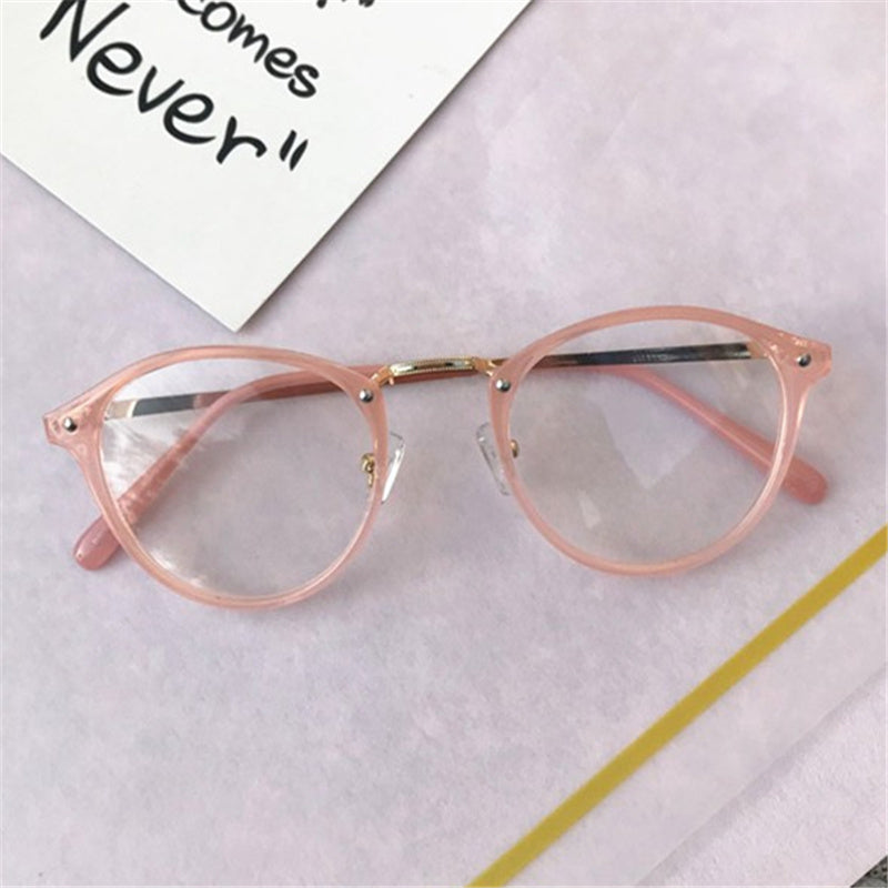 Vintage Clear Glasses Frame Transparent Lens Optical Eye Glasses -SunglassesTrendz