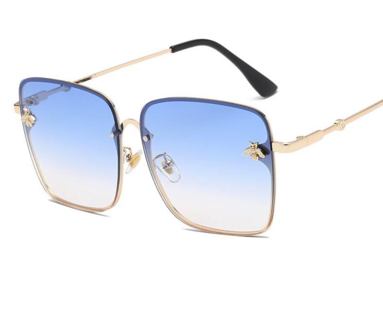 Trendy Square Bee Sunglasses For Women-SunglassesTrendz
