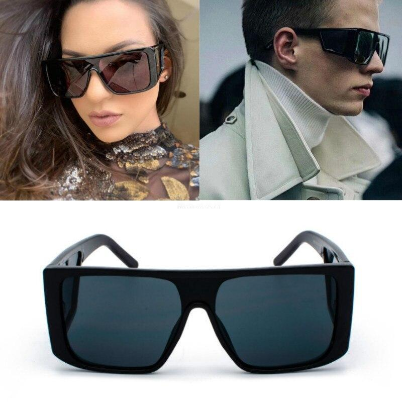 Trendy Oversized Square Sunglasses For Men And Women-SunglassesTrendz