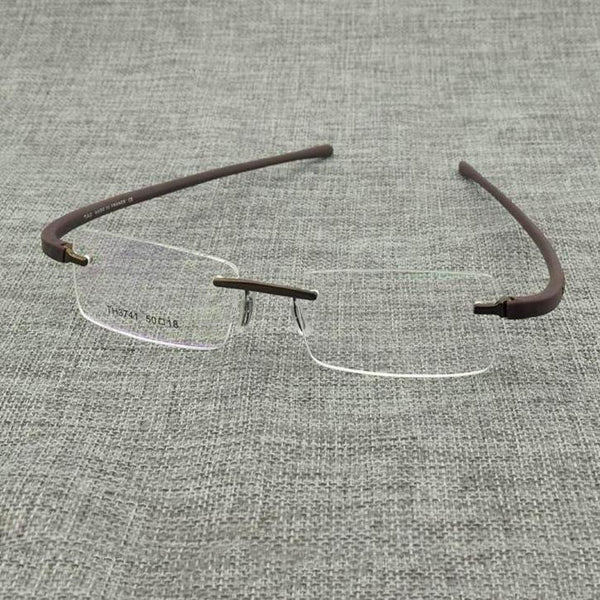 New Stylish Eyeglasses Rimless Men And Women - SunglassesTrendz