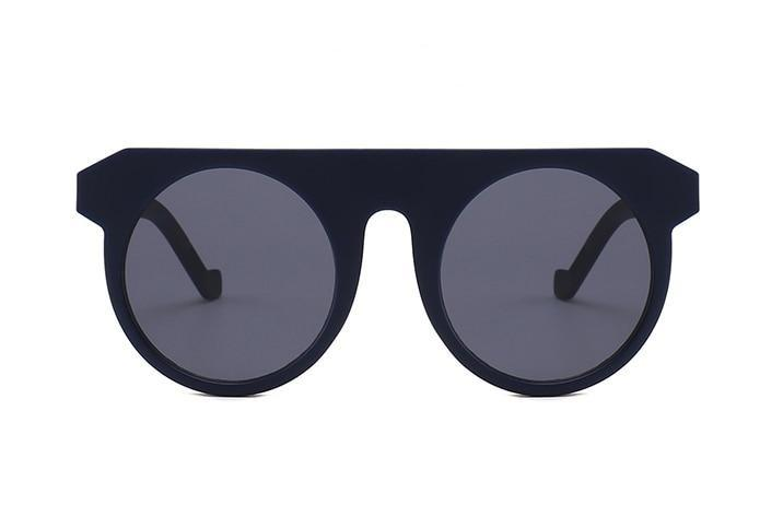Celebrity Fashionable Vintage Round Sunglasses For Men And Women