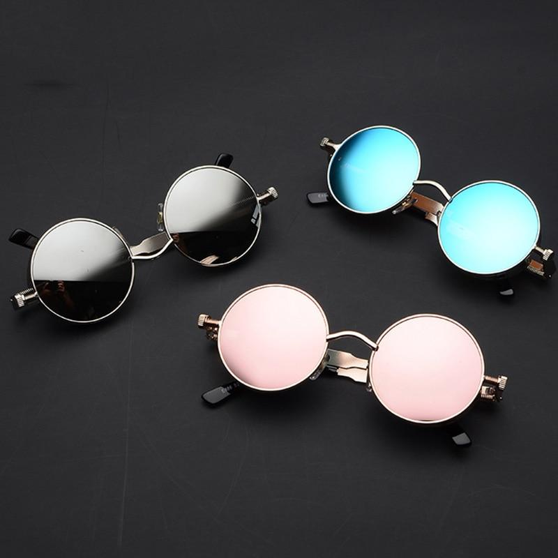New Metal Alloy Round Sunglasses For Men And Women- SunglassesTrendz
