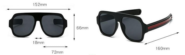 New Stylish Oversize Sunglasses For Man And Women-SunglassesTrendz
