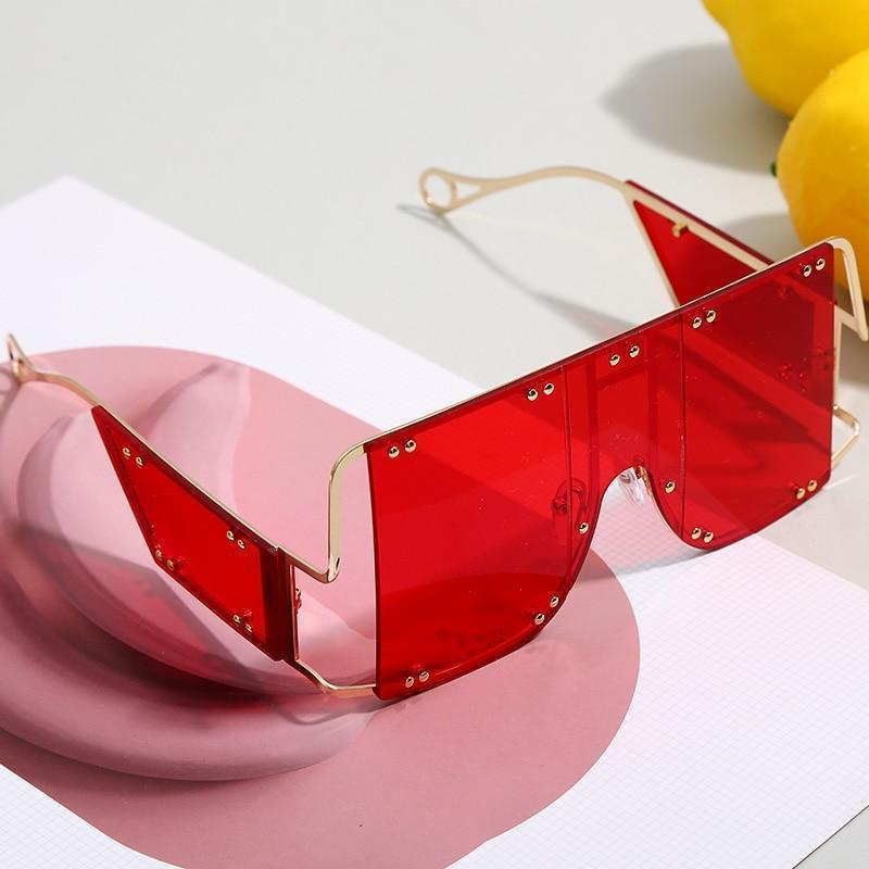 Stylish Oversized Candy Sunglasses For Women