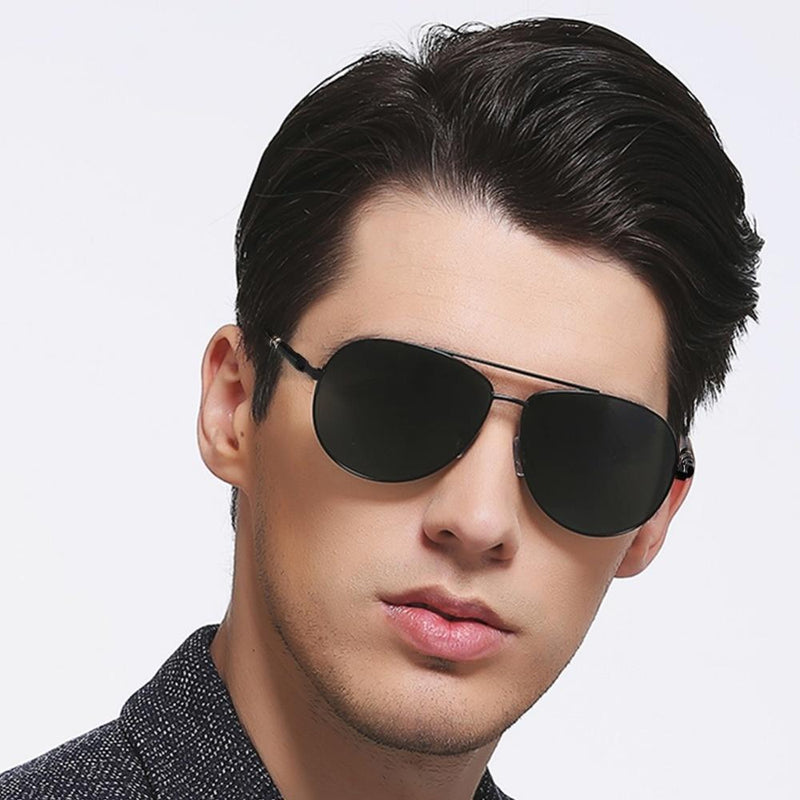 Classic Metal Frame Aviator Sunglasses For Men And Women-SunglassesTrendz