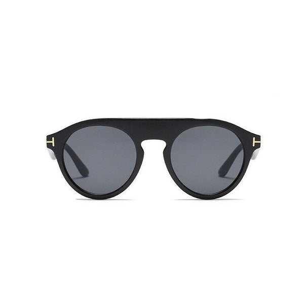 Celebrity Fashion Vintage Round Sunglasses For Men And Women