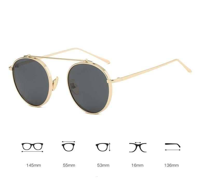Fashionable Round Sunglasses For Men And Women