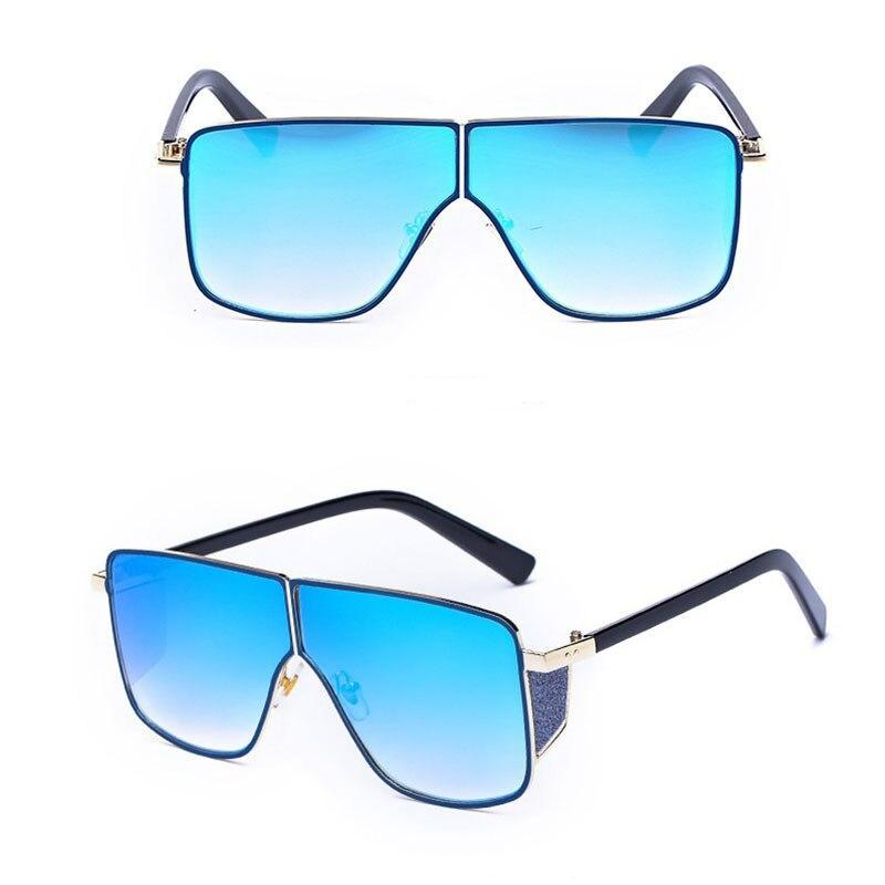 New Stylish Celebrity Square Oversize Sunglasses For Men And Women-SunglassesTrendz