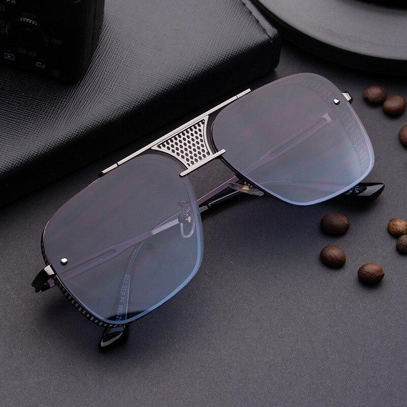 Most Stylish Metal Square Vintage Sunglasses For Men And Women-SunglassesTrendz