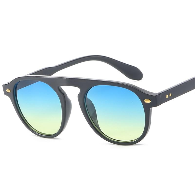Round Vintage Candy Sunglasses For Men And Women -SunglassesTrendz