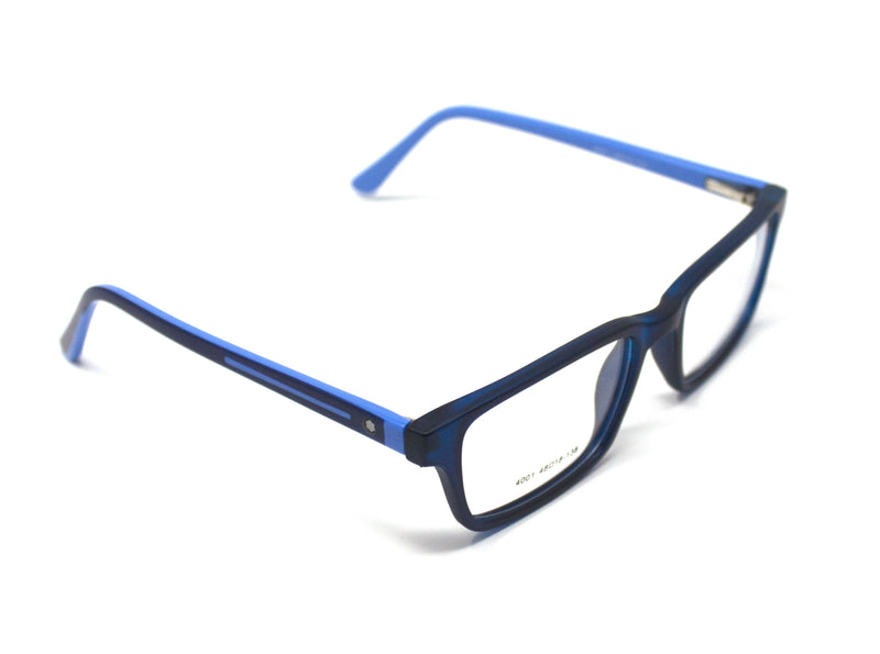 Buy Blue Fashion Optical Glasses Spectacle Frame For Men Women