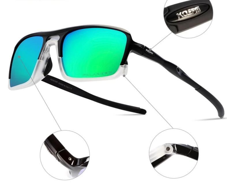New Stylish Light Frame Sports Polarized Sunglasses For Men And Women-SunglassesTrendz
