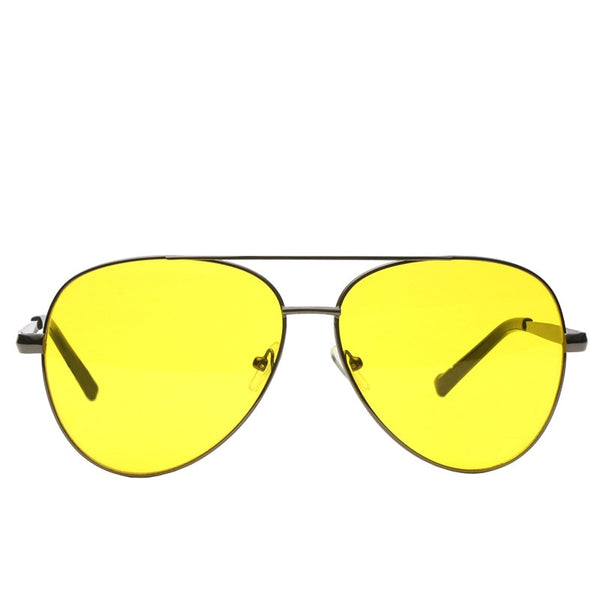 Aviator Yellow Candy Sunglasses For Men And Women -SunglassesTrendz