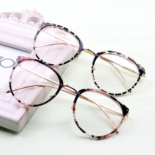 Retro Round Multicolor Frame Eyewear For Men And Women -SunglassesTrendz