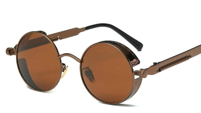 Round Vintage Retro Sunglasses For Men And Women-SunglassesTrendz