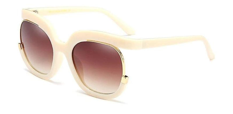 Oversize Square Gradient Sunglasses For Women-SunglassesTrendz