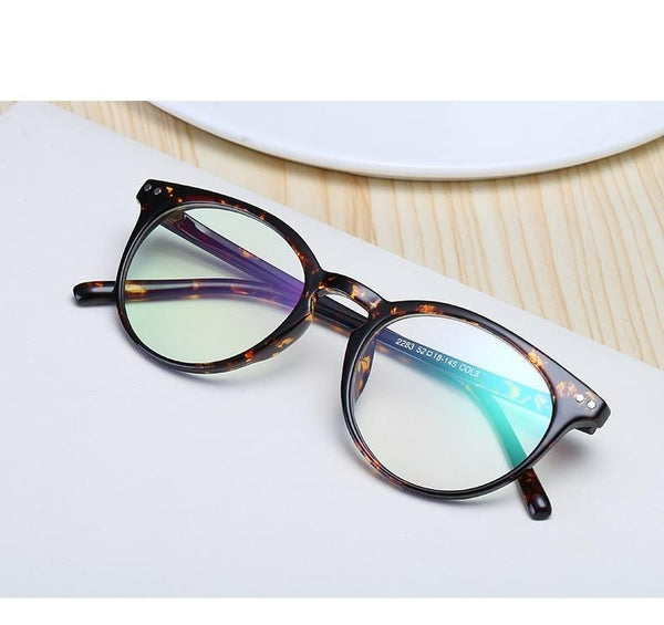 New Stylish Round Vintage Clear Lens Glasses For Men And Women -SunglassesTrendz