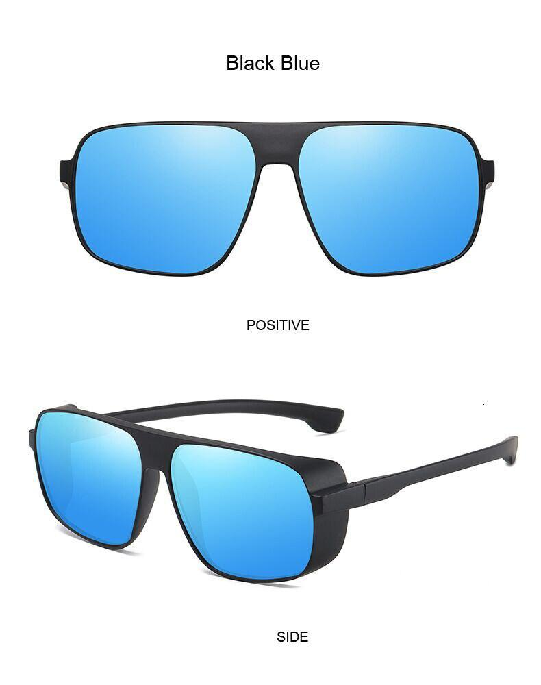 Rectangle Fashion Oversize Modern Retro Design Sunglasses