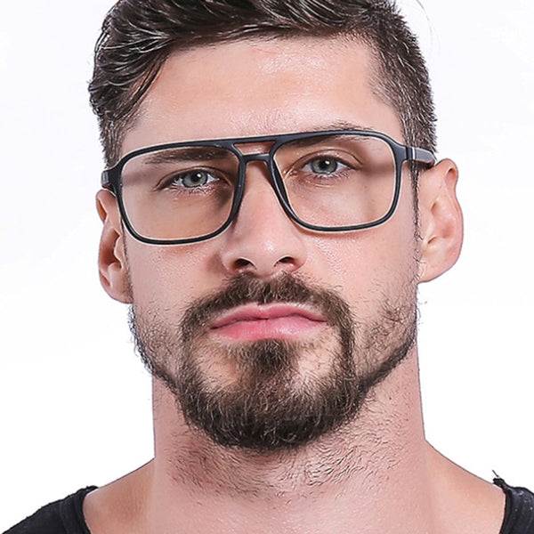 New Fashionable Square Frame Eyeglasses For Men