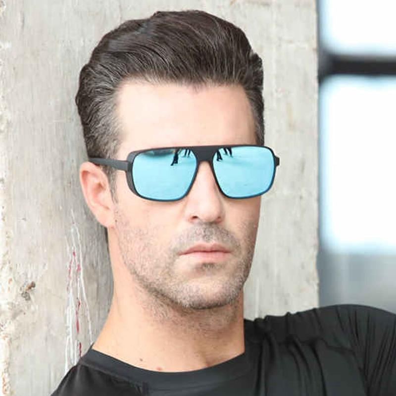 New Stylish Celebrity Polarized Square Sunglasses For Men And Women-SunglassesTrendz