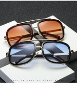 Classic Vintage Square Retro Sunglasses For Men And Women-SunglassesTrendz