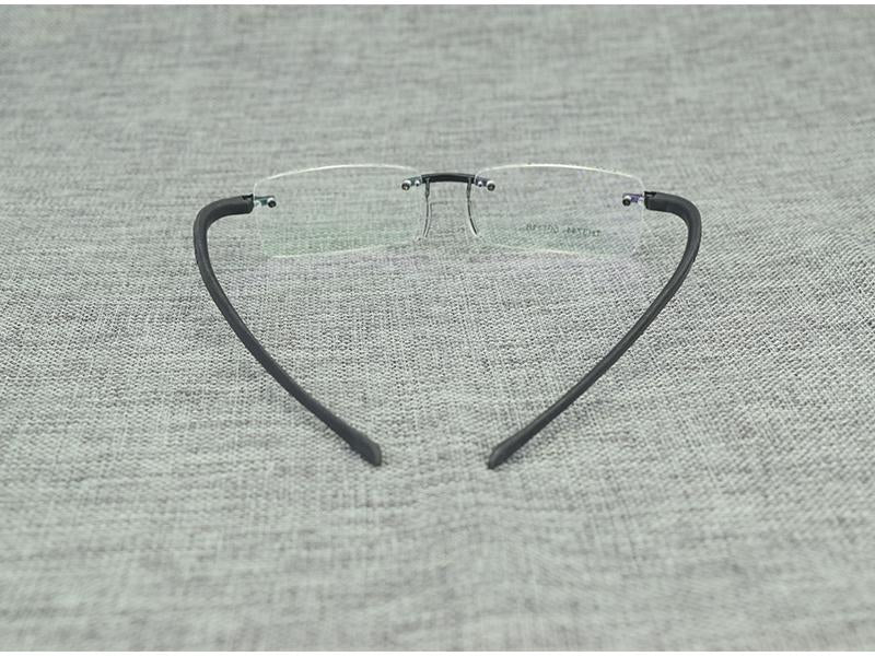 New Fashion Retro Glasses frame Frameless Metal For Men Women - SunglassesTrendz