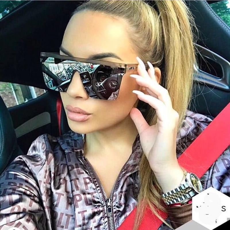 Stylish Flat Square Vintage sunglasses For Men And Women -SunglassesTrendz