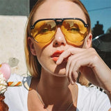 Classic Summer Transparent Sunglasses For Women-SunglassesTrendz