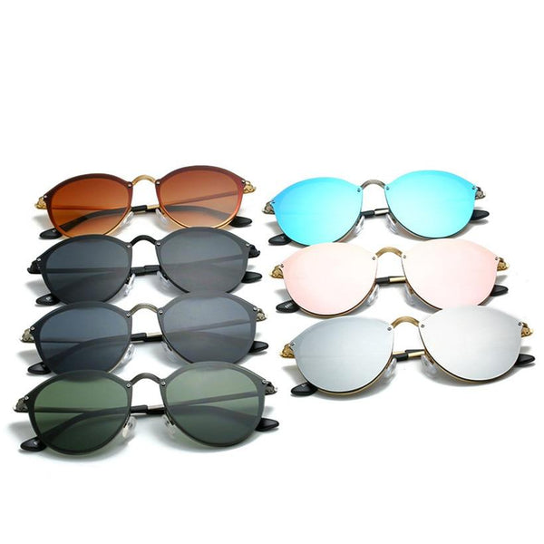 Celebrity Round Vintage Sunglasses For Men And Women-SunglassesTrendz