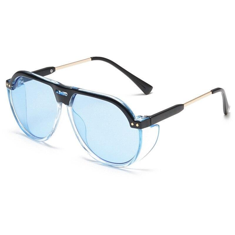 Fashion Oversize Candy Color Pilot Sunglasses For Men And Women