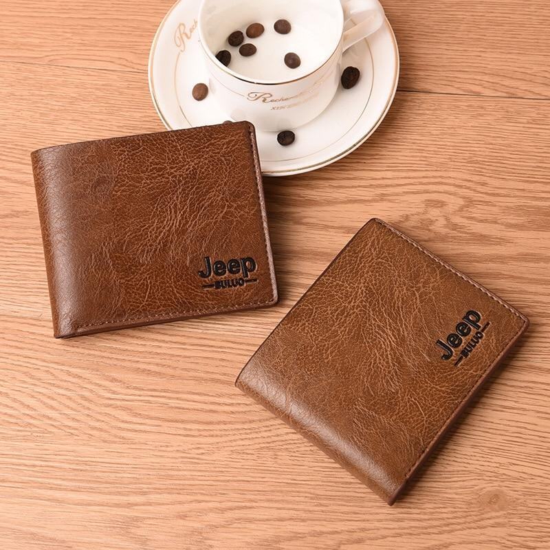Stylish Jeep Wallet For Men With Small Coin Pocket