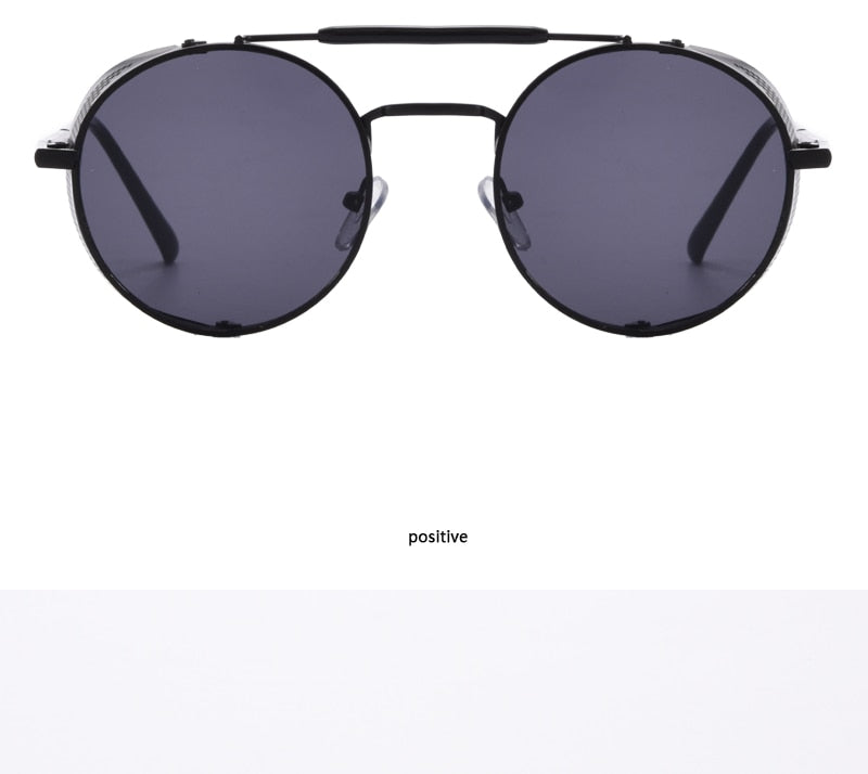 Latest Round Side Shield Sunglasses For Men And Women-SunglassesTrendz