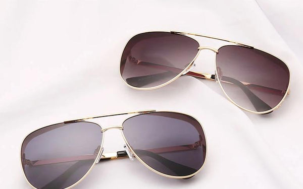 New Stylish Metal Vintage Aviator Sunglasses For Men And Women-SunglassesTrendz