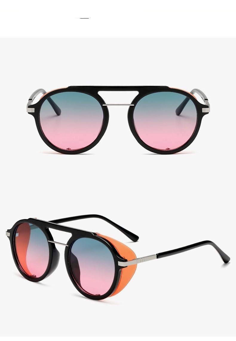New Stylish Round Vintage Sunglasses For Men And Women-SunglassesTrendz