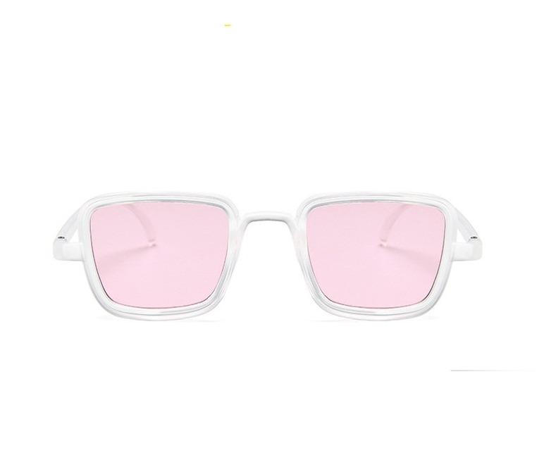 New Fashion Candy Color Luxury Square Sunglasses For Men Women