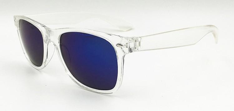 New Transparent Square Wayfarer Sunglasses For Men And Women -SunglassesTrendz