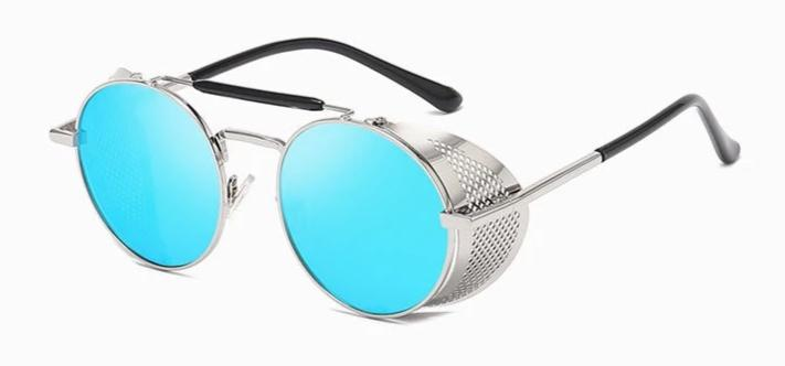 Latest Round Steampunk Sunglasses For Men And Women-SunglassesTrendz