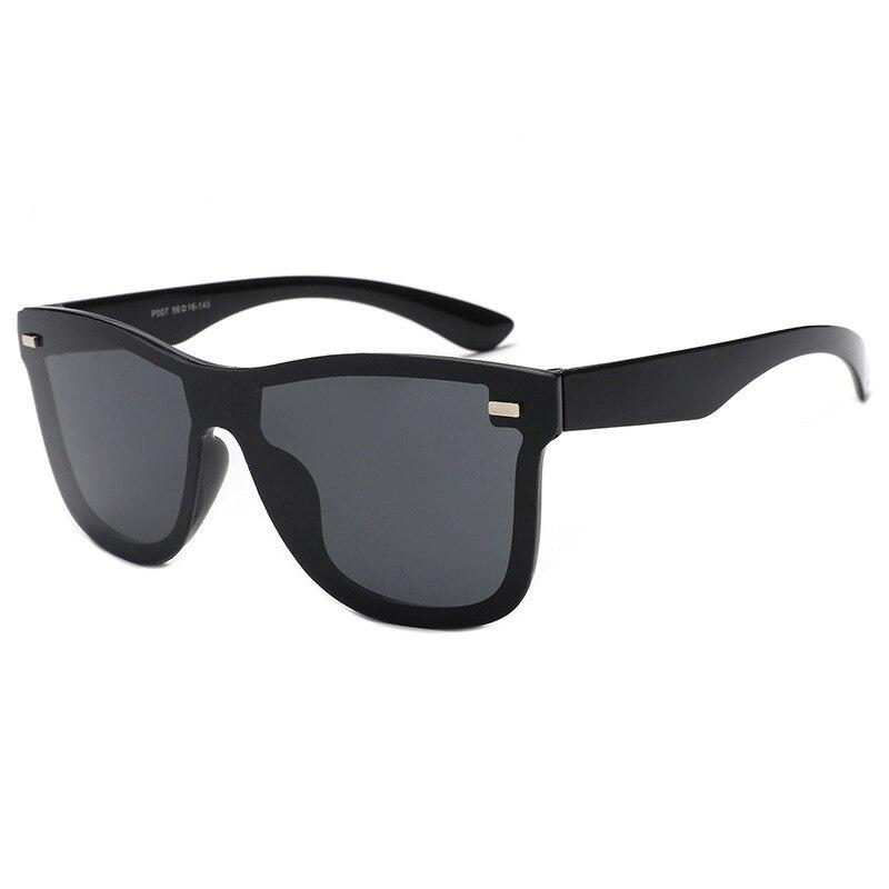 Rimless Square Wayfarer Sunglasses For Men And Women