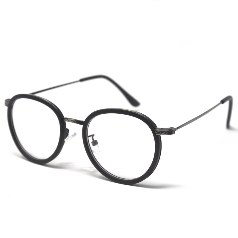 Round Black Rabbit Eyeglass