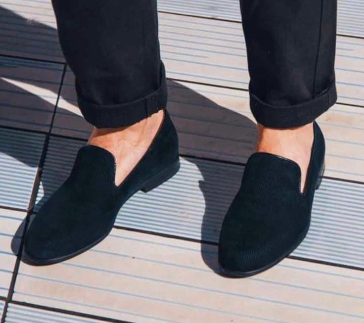 Men Suede Shoes Fashion Business And Partywear Loafer -SunglassesTrendz