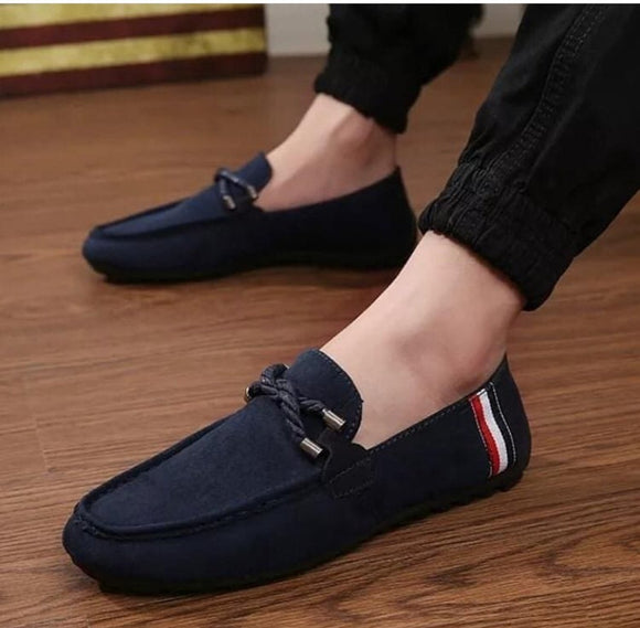 Stylish Men Suede Shoes Fashion Business And Partywear Loafer -SunglassesTrendz