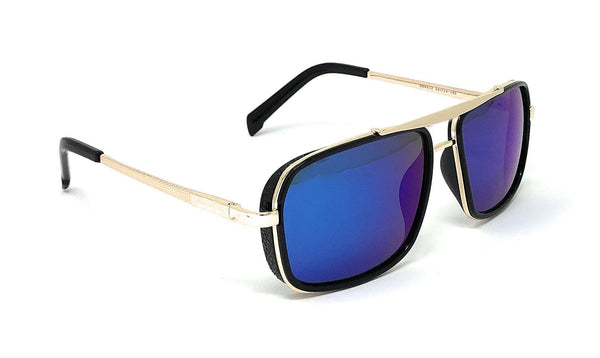 Fashionable Classic Square Blue Sunglasses For Men And Women