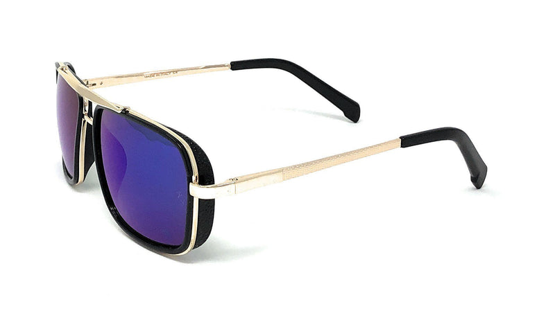 Classic Square Sunglasses With Metal Frame For Men And Women