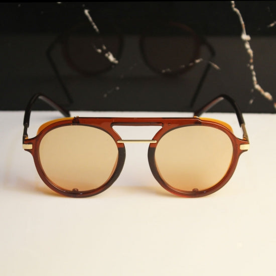 Round Vintage Sunglasses For Men And Women-SunglassesTrendz